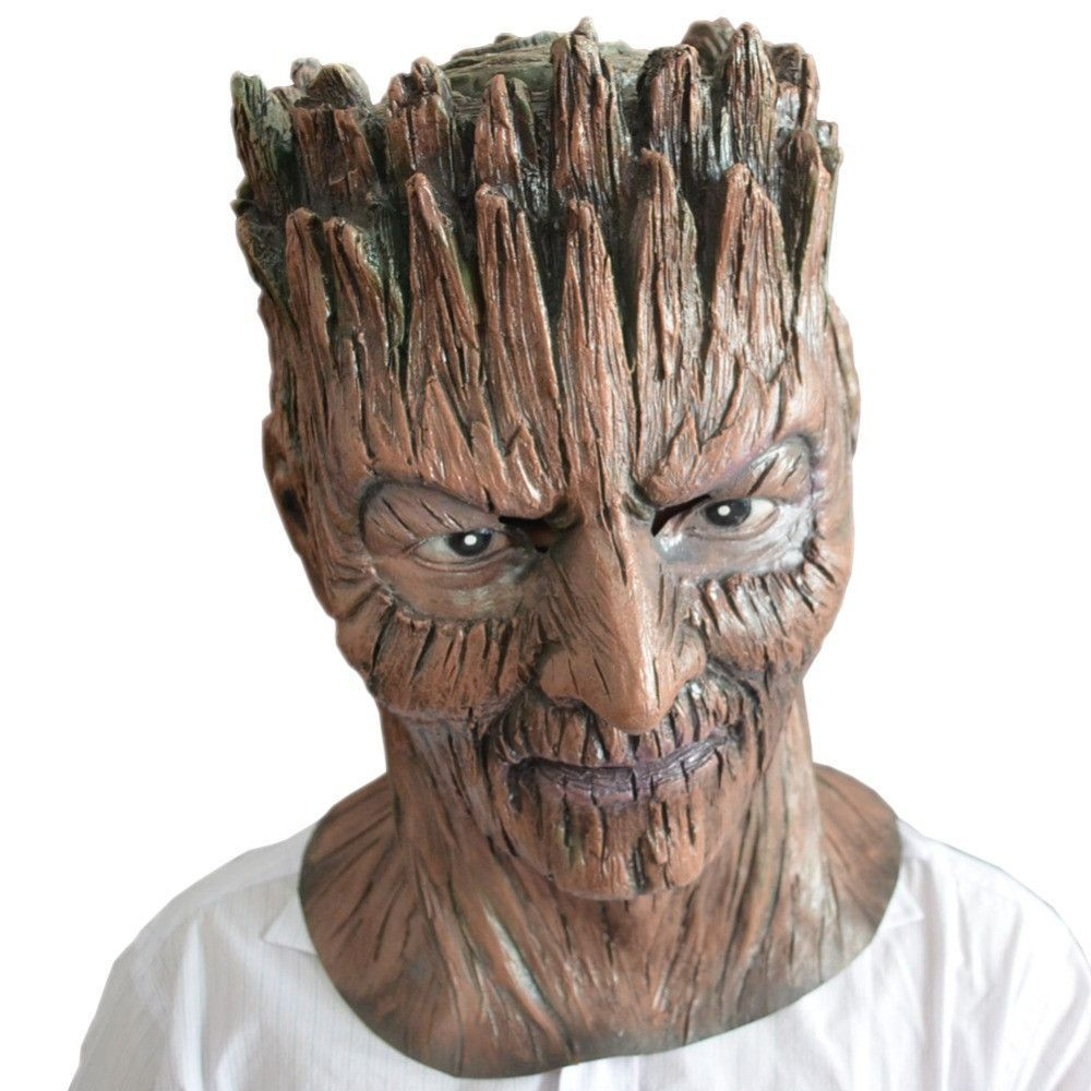 Guardians of the Galaxy Groot Halloween adult full faced latex ...