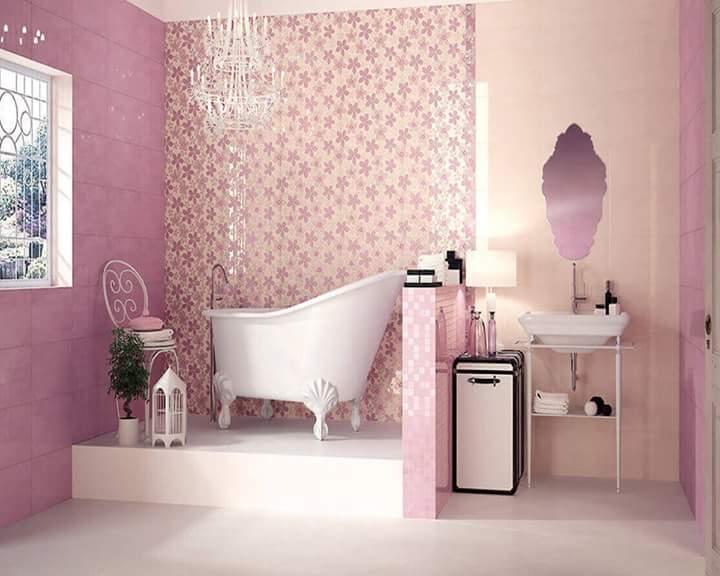 40 Playful Kids Bathroom Ideas To Transform You Little Wonder S Bath Space Pink Bathroom Tiles Girl Bathrooms Pink Bathrooms Designs