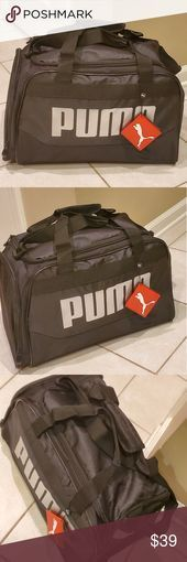 "Photo of New Unisex Puma Fitness Sports Carry On New With Tag. About 15 ""by 10 * by 8 & quo …"