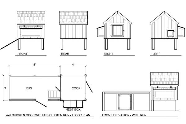 Coops  Chicken coops and Roof plan on Pinterest