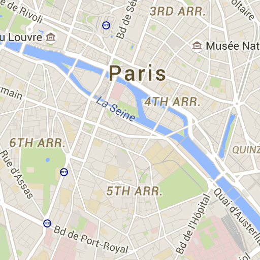 locate the greatest paris sights shopping venues restaurants and hotels on paris city map