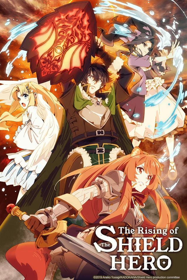 The Rising Of The Shield Hero Watch On Crunchyroll Anime Black Clover Anime Hero Poster