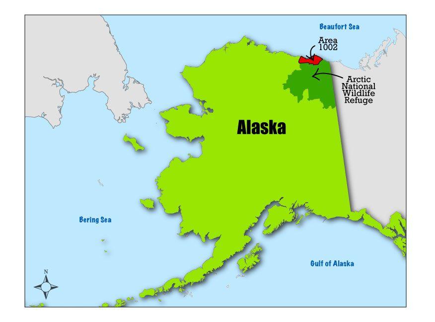arctic national wildlife refuge map Arctic National Wildlife Refuge Wikidoo National Wildlife arctic national wildlife refuge map
