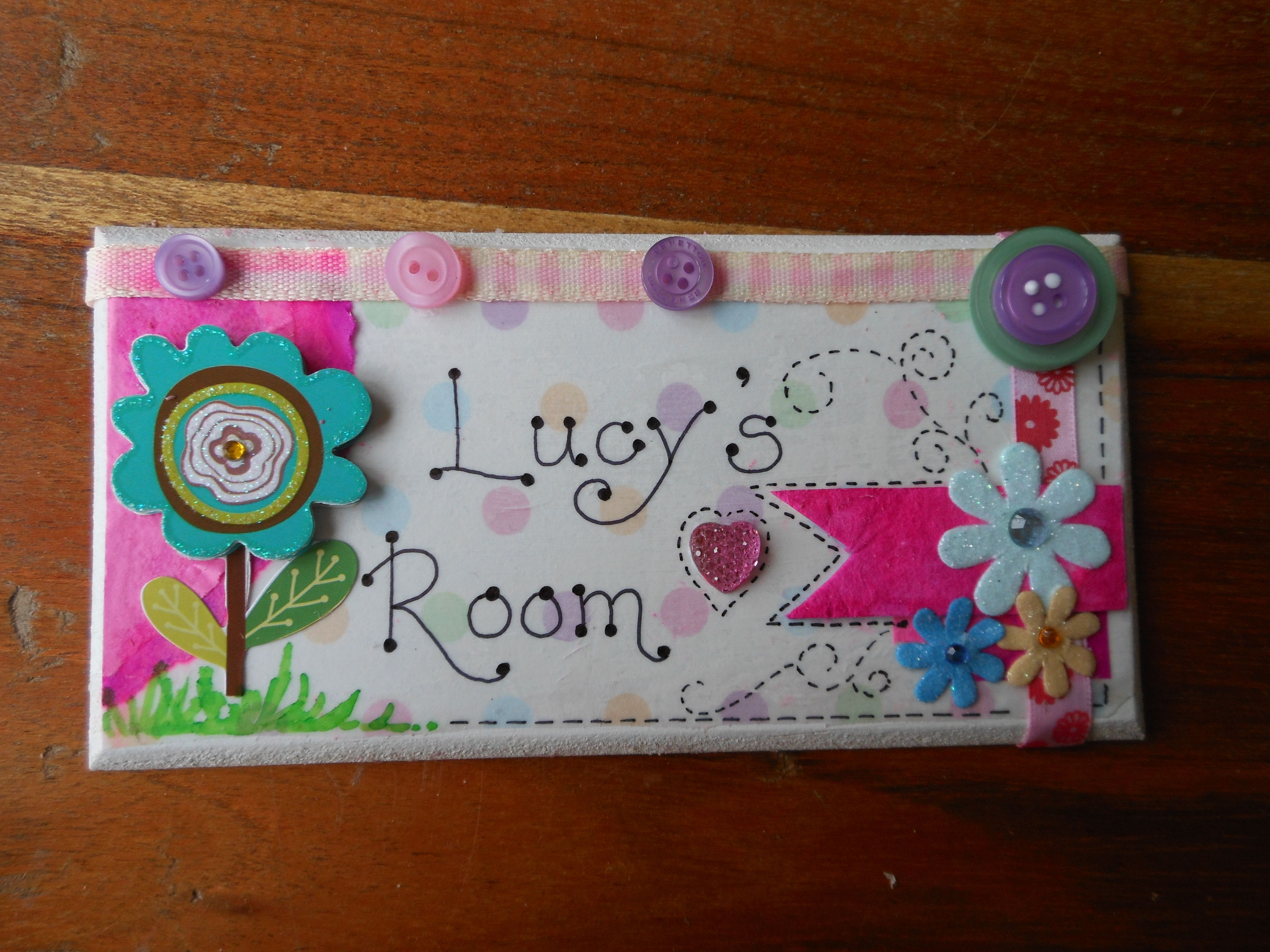 Bespoke Personalised Handmade Wooden Mdf Plaques Shabby Chic Door Plaques Manualidades Nombres En Madera Country Pintura En Madera