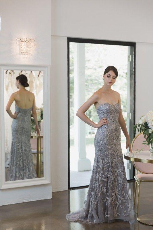 Jackie   gown warehouse   Pinterest   Femininity, Sheer fabrics and ...