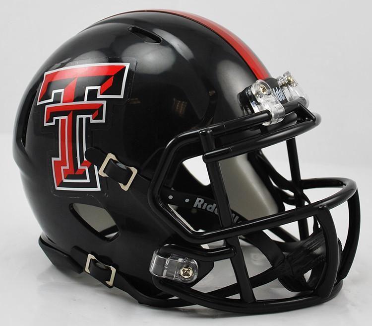 03958925 Texas Tech Red Raiders Riddell Speed Mini Helmet | TEXAS TECH ...