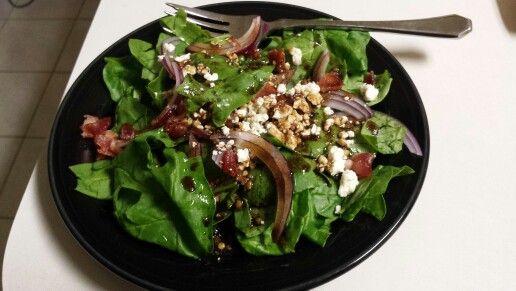 Spinach salad!!