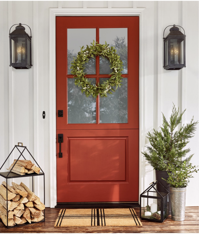 Modern Red Front Door: BHG @Home Blogger Contributor Network