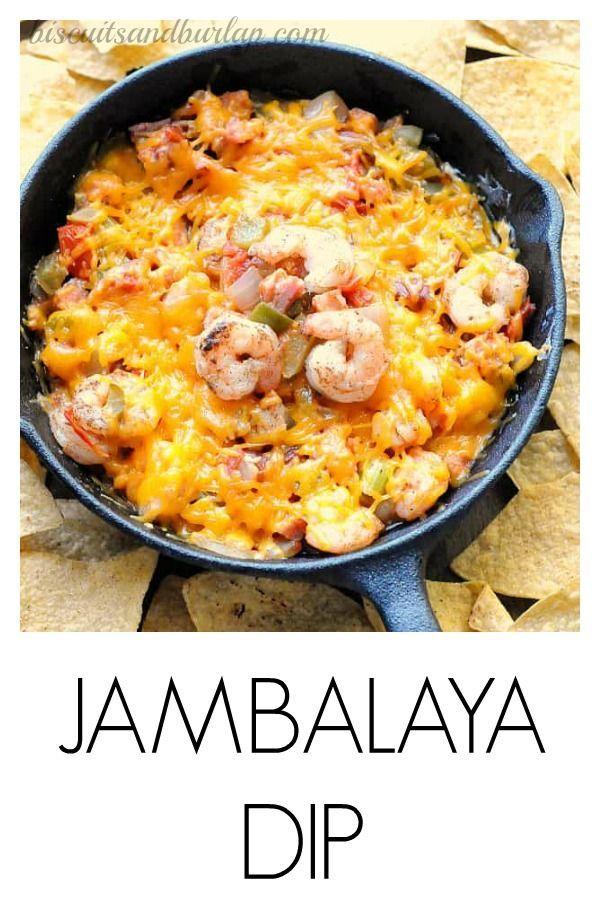 Jambalaya Dip #cajundishes