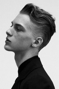 nice Cool Male Curly Hairstyles