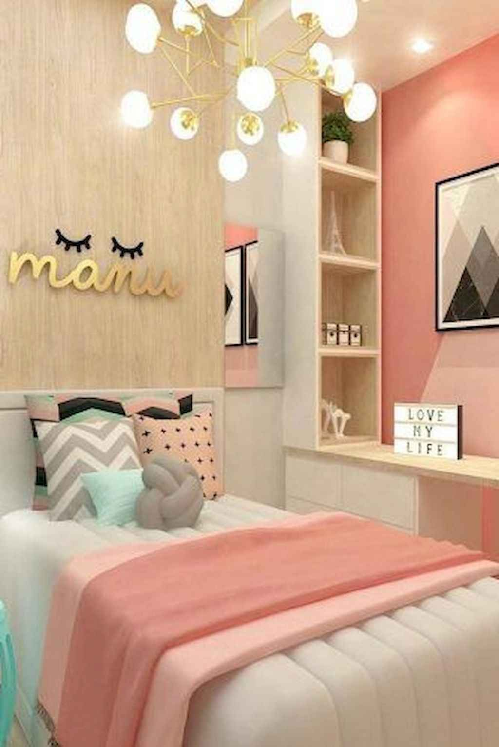 Best Style Bedroom 2019 & 65+ White Bedroom Ideas for Teen Girls images