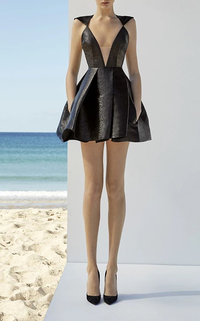 Alex Perry Gretchen Mini Dress For The Deauxp Machina In