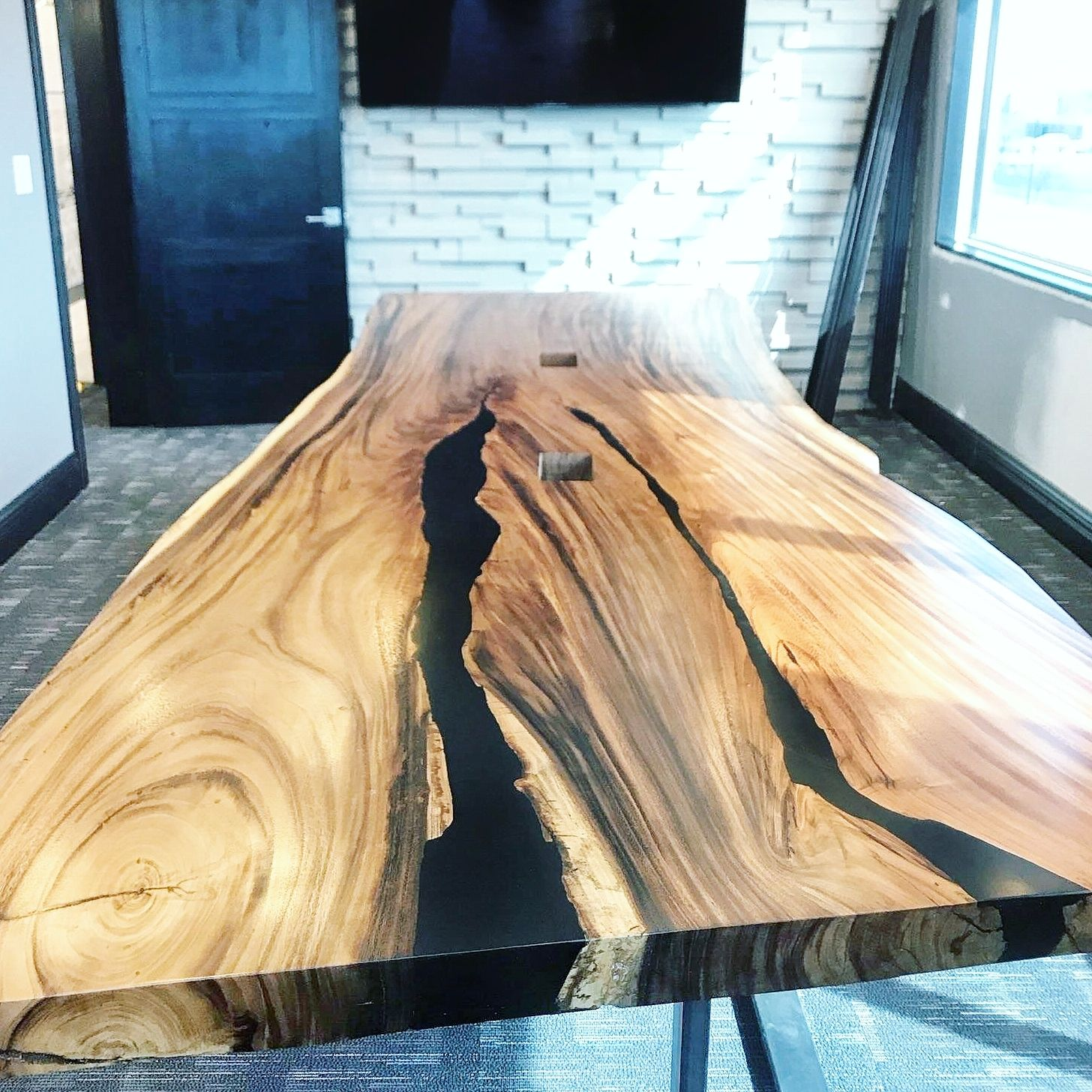Epoxy Table Decor River Dining Table Office Desk Live Edge Etsy Resin Table Epoxy Wood Table Coffee Table To Dining Table