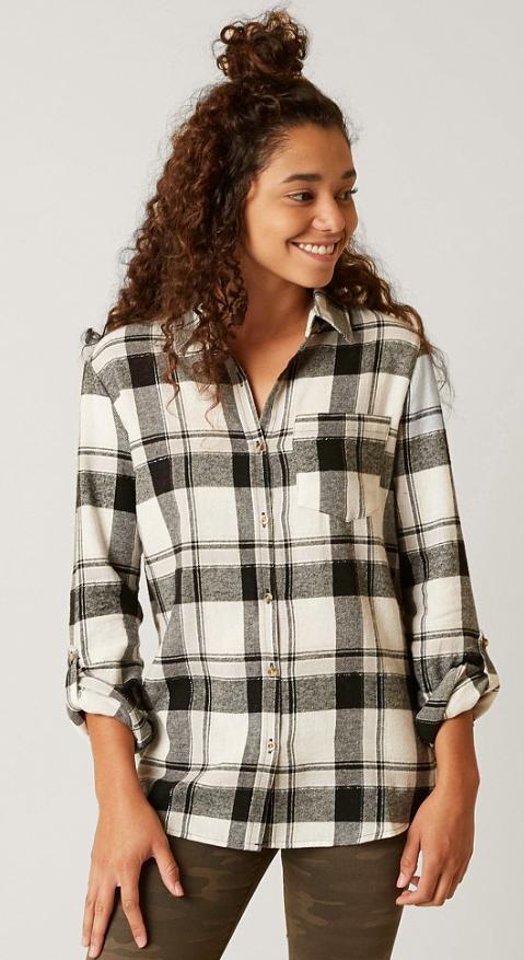 65f9bb6a Flannel Shirts for Fall : Daytrip Flannel Shirt | Buckle | • fashion ...
