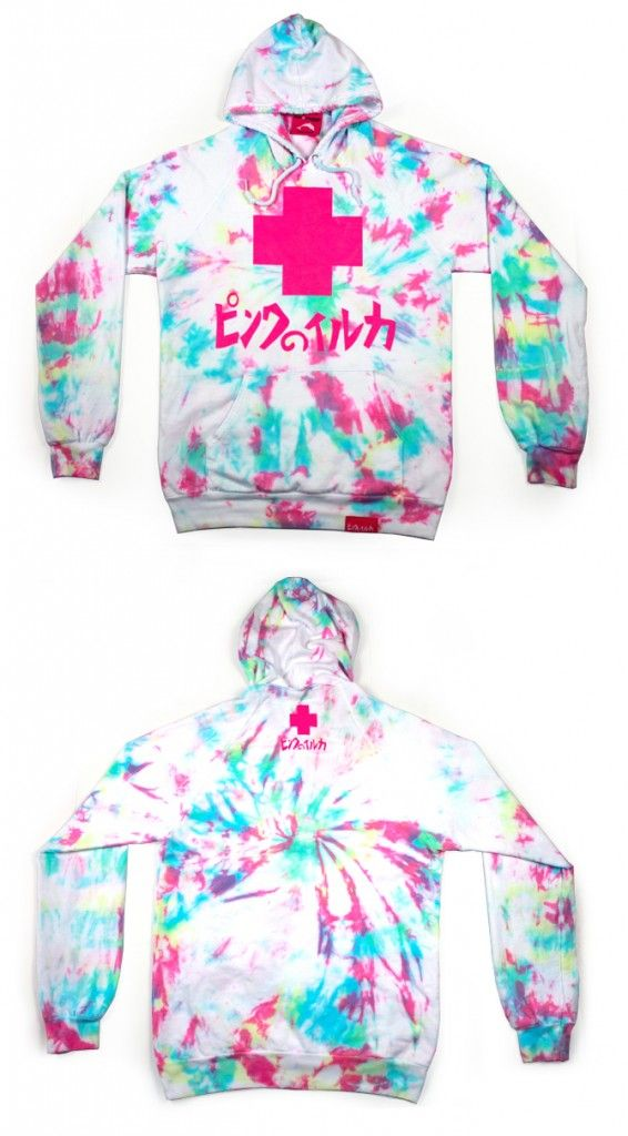 e582ab4b65 LIMITED EDITION TIE-DYE HOODIES | PINK+DOLPHIN CLOTHING on The Hunt ...