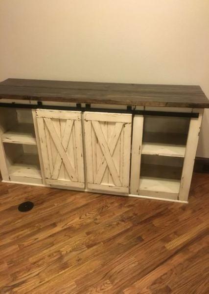 38++ Farmhouse wood tv stand model