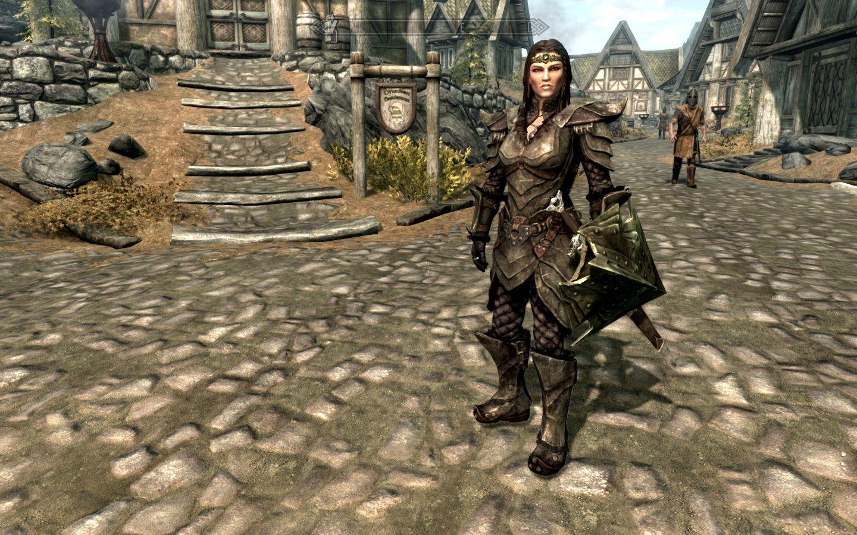 female orcish armor   Skyrim, Armor, Female