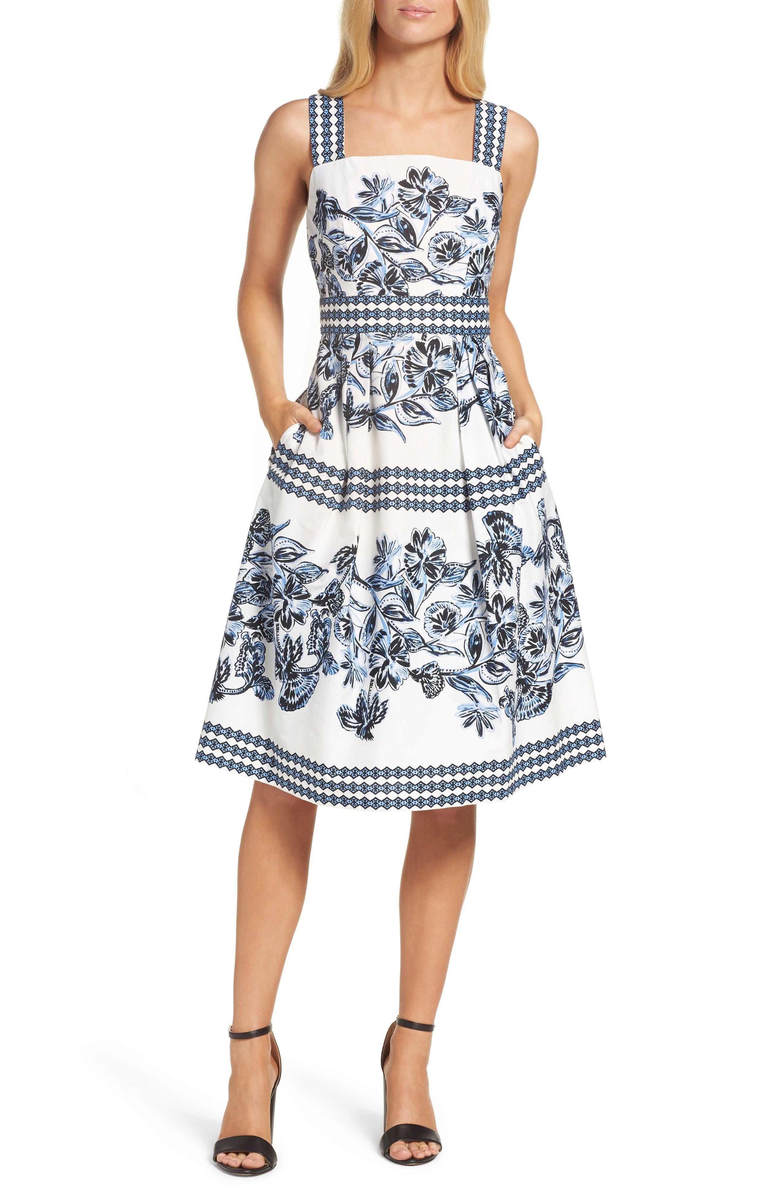 Fit Flare Dress Fit Flare Dress Blue Summer Dresses Flare Dress [ 4048 x 2640 Pixel ]