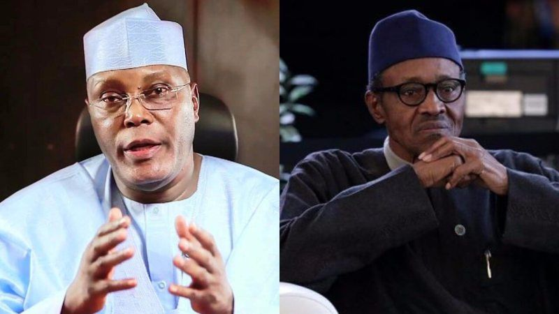 Image result for This is a government of liars' — Atiku hits Buhari again