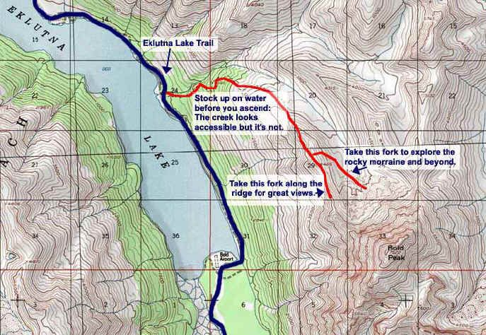 Bold Peak Valley topo map | Fitness | High ridge, Hiking, Alaska