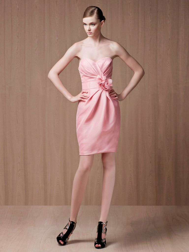 Pink Cocktail Dress Comes to Your Rescue | Things to Wear | Pinterest
