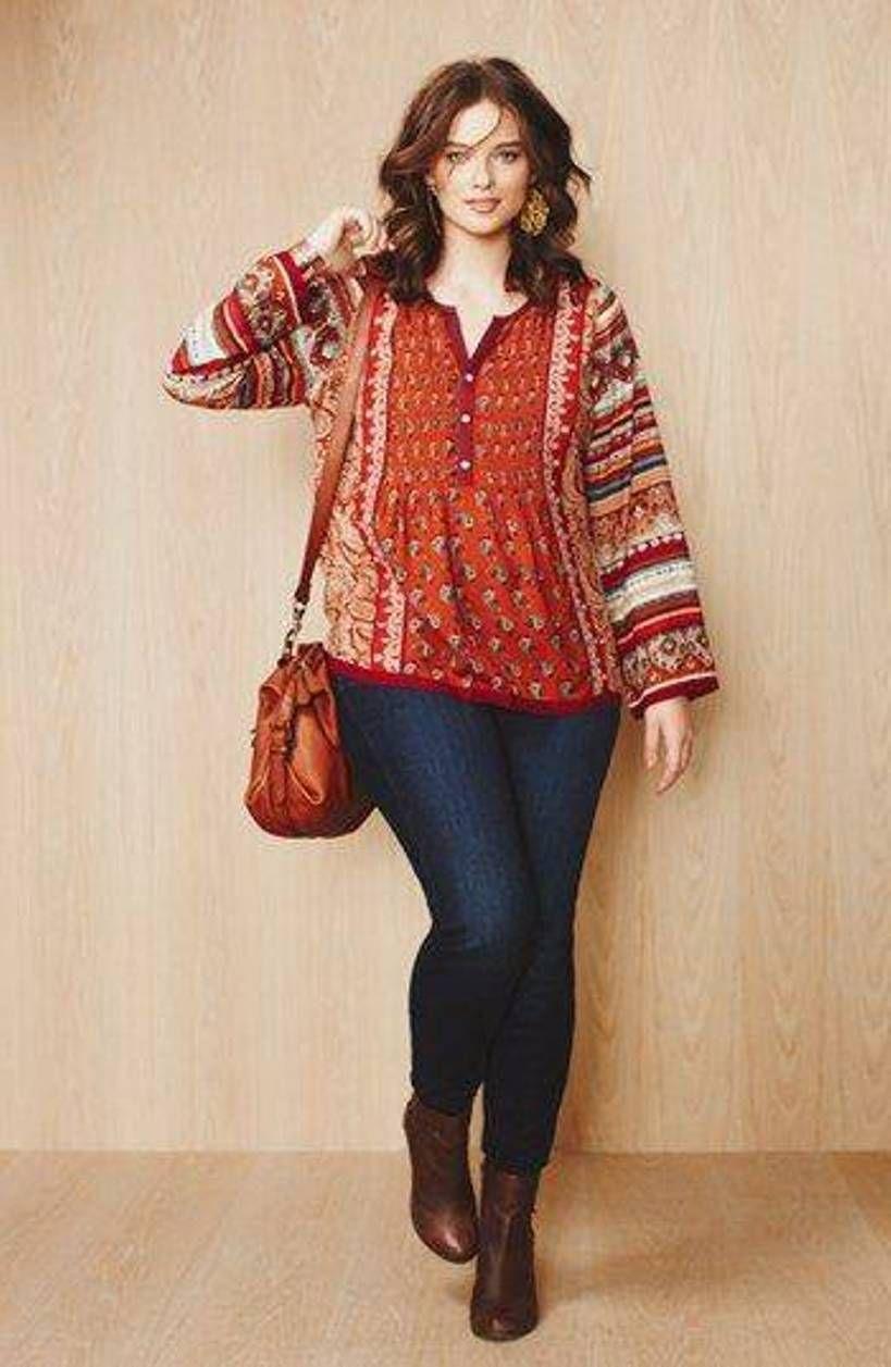 pretty plus size skinny jeans | My Style | Pinterest | Bohemién ...