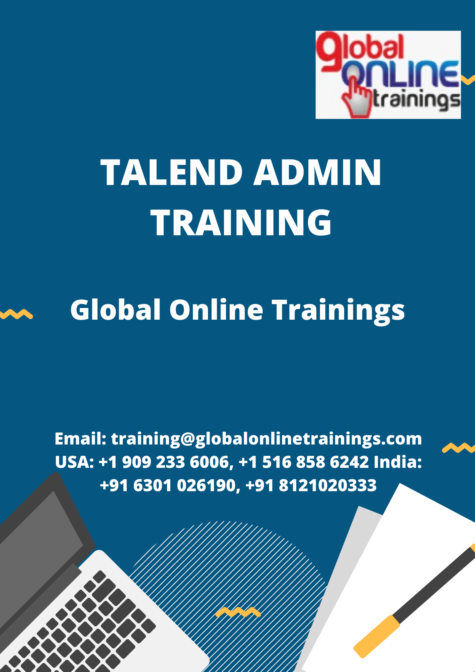 Talend Admin Training Online Training Train Admin