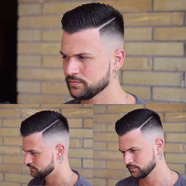 Haircut Balding Mens Hairstyles Bald Hair High Skin Fade
