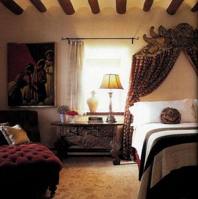 Bringing The Adobe Feel In Instyle Indoors Inspirational Series Bedroom Inspirations Bedroom Decor Bedroom Design