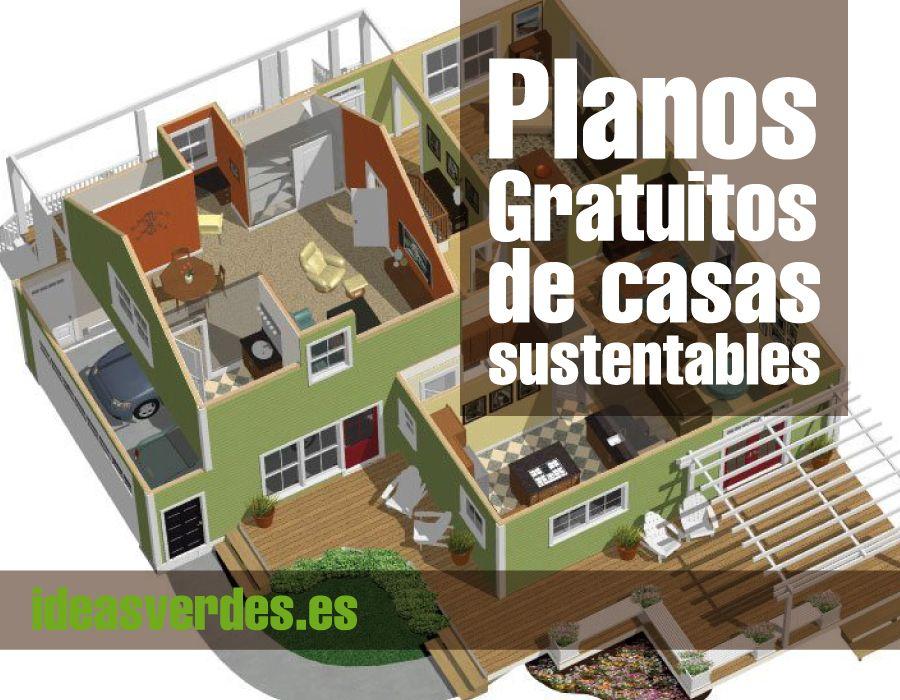 Construye tu casa sustentable con estos planos gratuitos for Construir tu propia casa