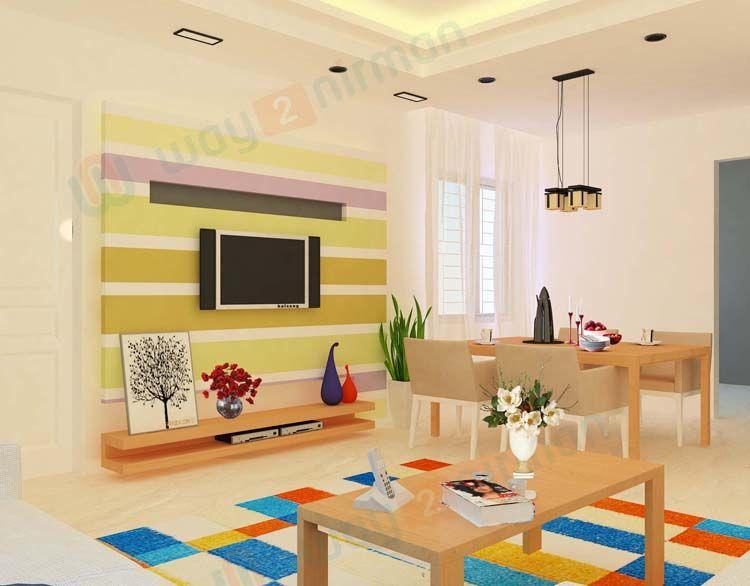 Nice # LivingRoom with # TVWallUnit # ModernDesign ...
