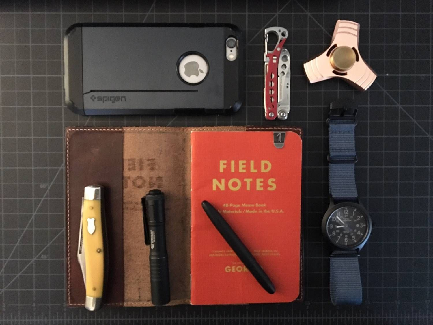 A peek into the pockets of people worldwide, showcasing our every day essentials.