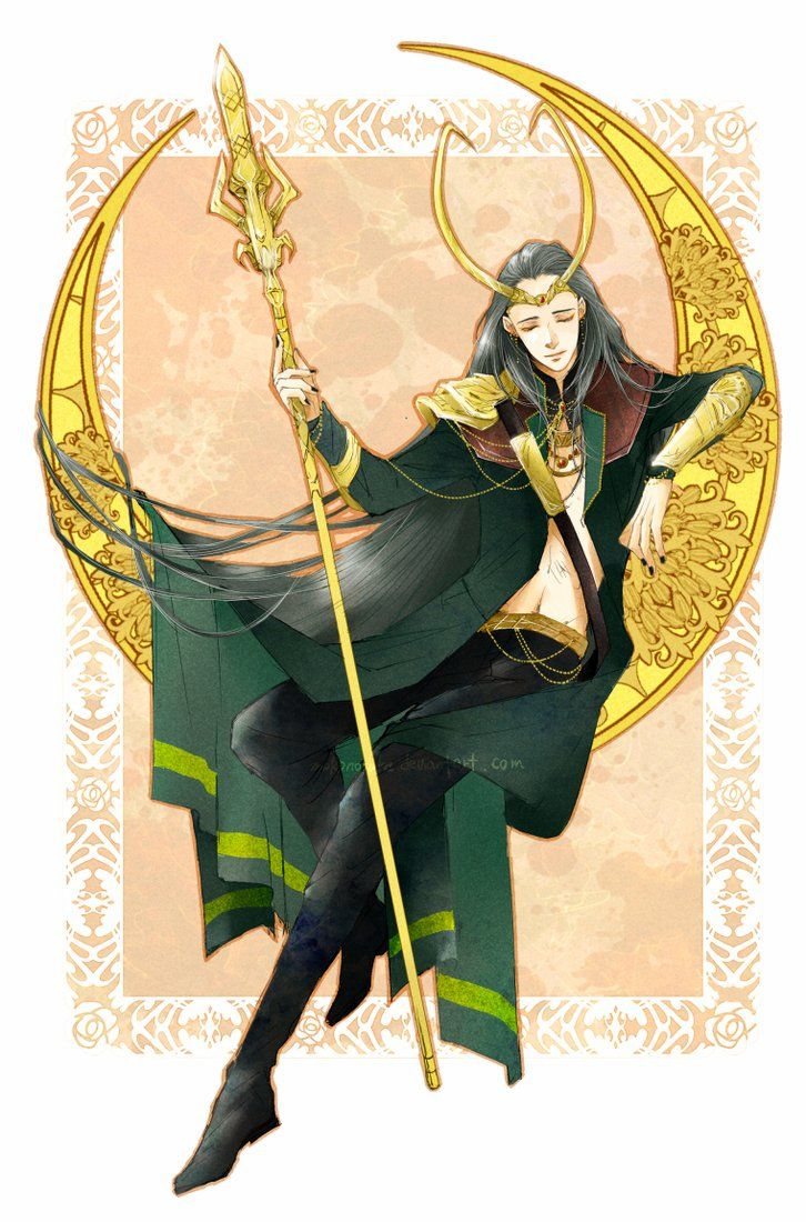 Please don 39 t post on tumblr reblog this instead loki loki - The avengers dessin anime ...