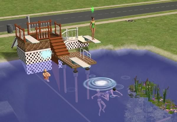 Mod The Sims - Easy swimmable real lake -Tutorial