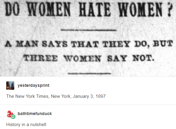 The New York Times New York January 3 1897 History In A Nutshell Http Leftboob Enthusiast Tumblr Com Post 16793247512 Tumblr Funny History In A Nutshell