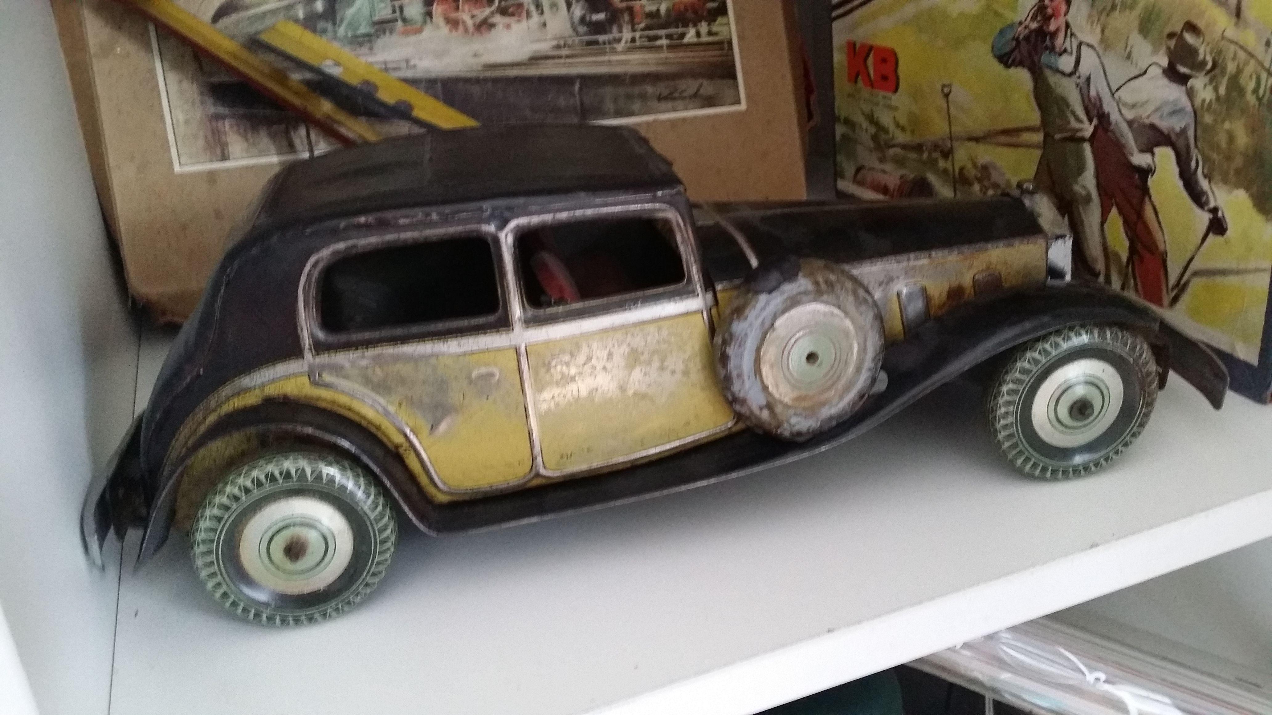 Wells Brim Toy Rolls Royce 30-ties | TinToys | Pinterest | Rolls ...