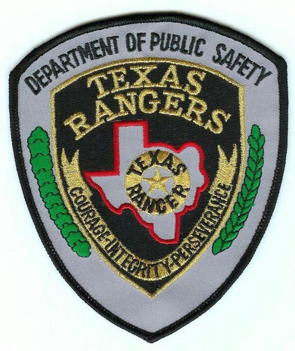 Texas Ranger Placas De Policia Policia Insignias