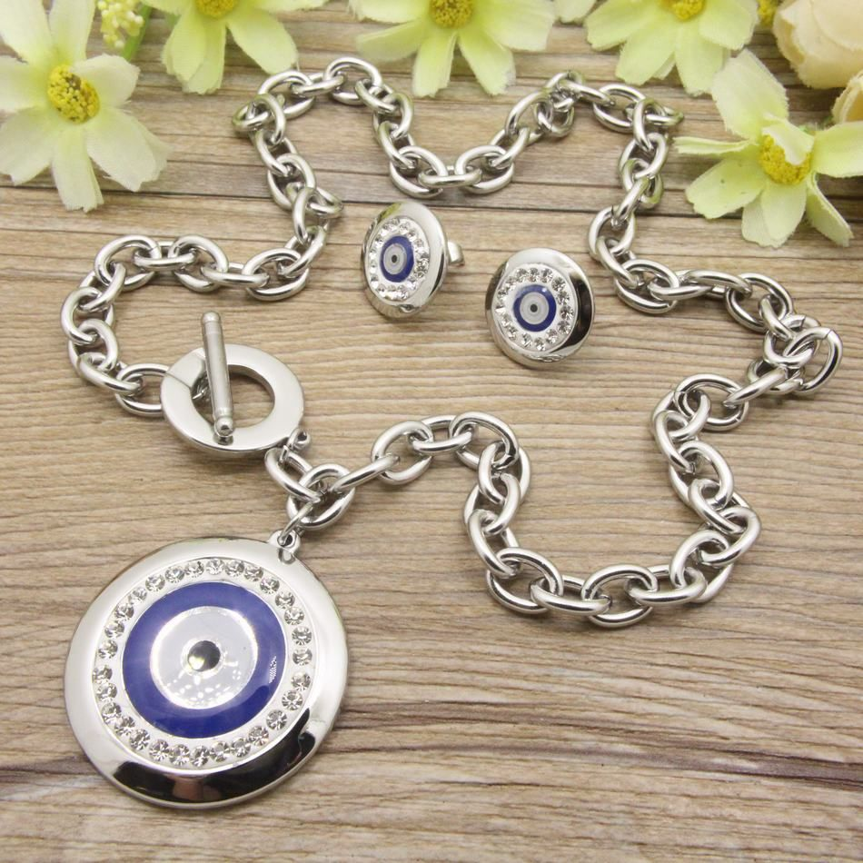 Hot new fashion stainless steel jewelry romantic pendants earring