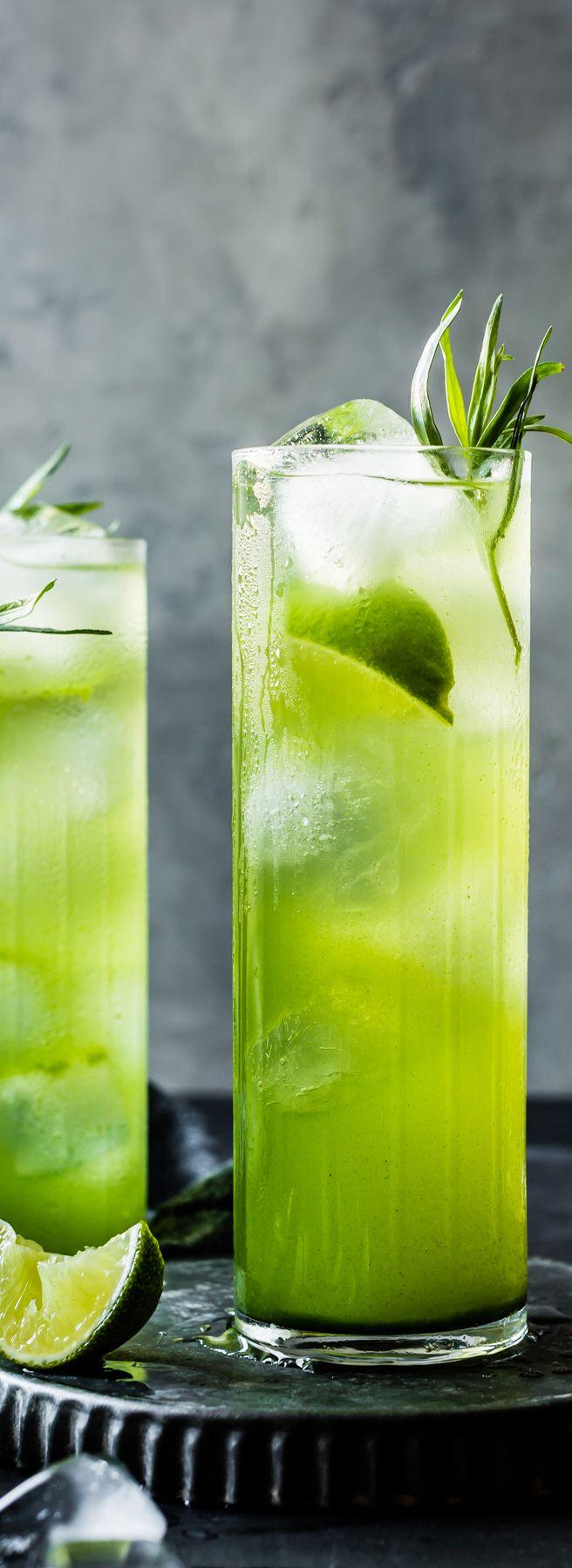 Tarragon: drink recipe. Soft drinks 4