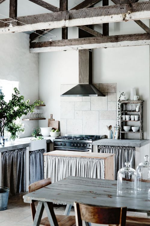 wonderful industrial shabby chic kitchen | industrial chic wt rustic | Antique with Modern | Kitchen ...