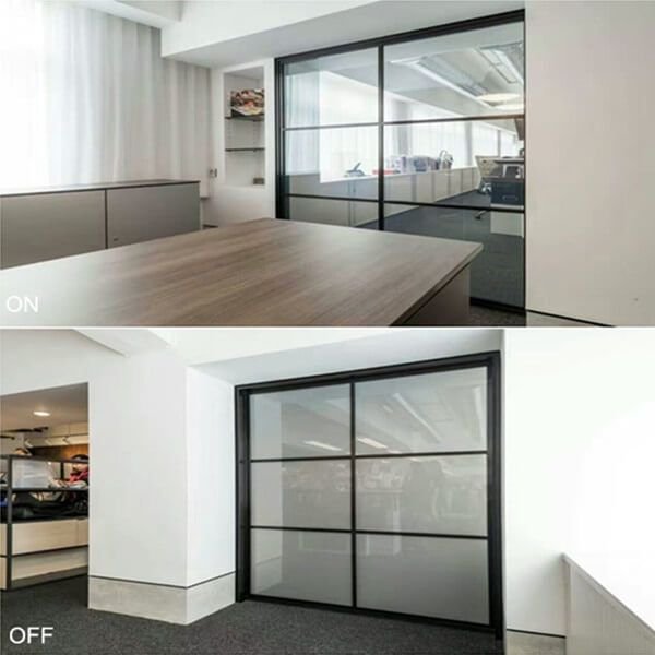 Switchable Privacy Glass Smart Glass Glass Wall Office Window