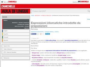 Si quieres conocer las expresiones idiomáticas italianas, aquí encontraras un listado de los mejores recursos disponibles en internet para aprender las expresiones idiomáticas italianas