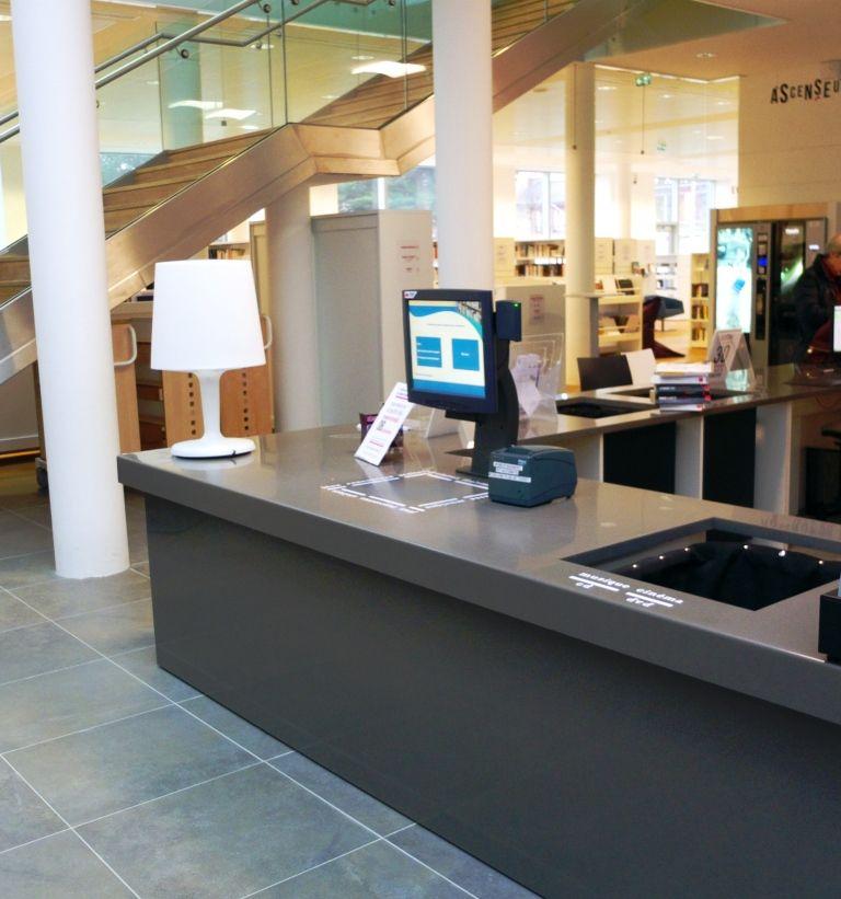 3M automate RFID posé sur banque