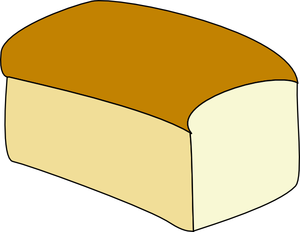 loaf of bread outline loaf of bread clip art coloring sheets rh pinterest com loaf of bread pictures clip art loaves of bread and fish clipart