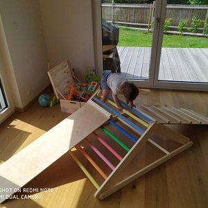 Letto bambino, presepe di vivaio, lettino per bambini, lettino Montessori, letto bambino, letto in legno, bambini a casa, waldorf giocattolo, arredamento camerette, piano letto