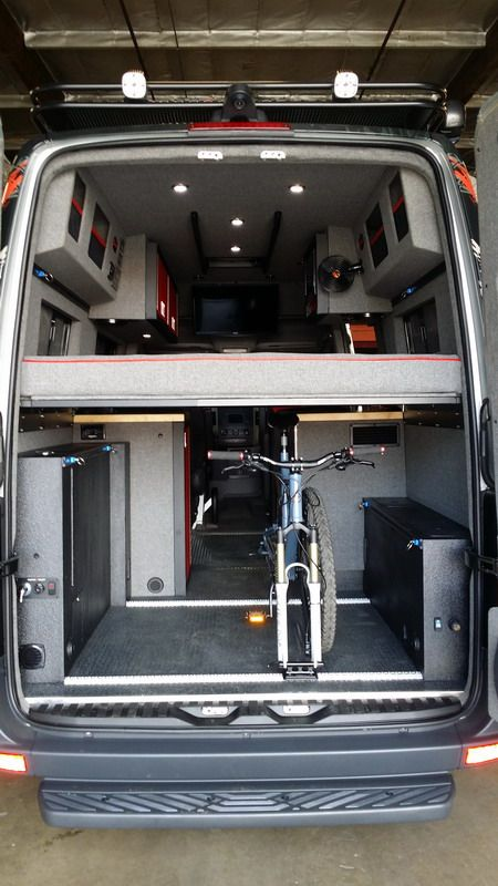 Mercedes sprinter custom rv conversion mercedes benz for Mercedes benz conversion van