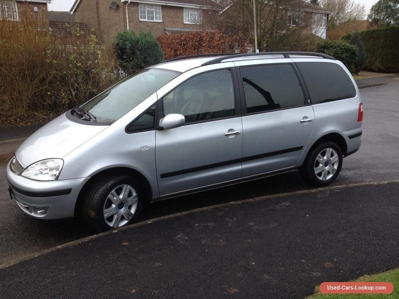 Car For Sale Ford Galaxy 1 9tdi Ghia 7 Seater No Reserve Low