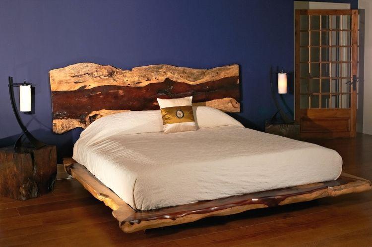 Genial echtholz schlafzimmer Meuble bois massif