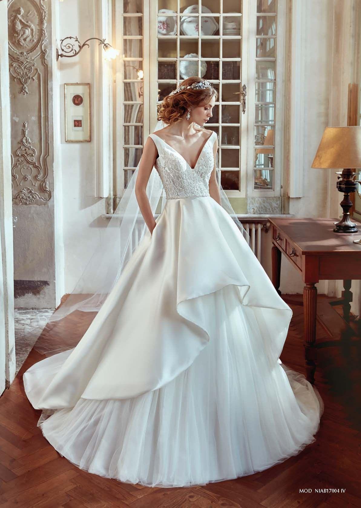 Vestido de novia Nicole Spose 2017 Modelo Niab17004. #vestido #novia ...