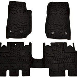 Oem Mopar Jk Jeep Wrangler Rubber Front And Rear Floor Mats Jeep Wrangler Jeep Wrangler Unlimited Jeep Wrangler Interior